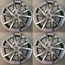 "4 x Hub Caps that fit 2012-2018 Prius V 16"" Full Wheel Covers Rim Cap Tire Hubs"