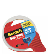"""Scotch Heavy Duty Shipping Packaging Tape with Refillable Dispenser, 3"""" Core,..."""