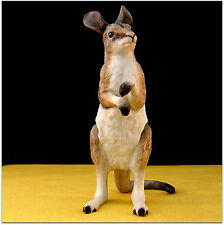 Lenox w/ Smithsonian Inst.~ BRIDLED NAIL-TAILED WALLABY  ~Endangered Baby Animal