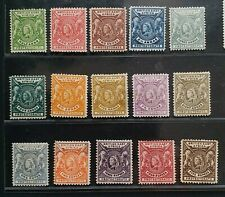 BRITISH EAST AFRICA 1896 QV 1/2a to R5 SG 65 - 79 Sc 72 - 87 set 15 MLH/MH