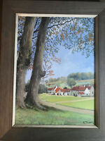 "Lesbia Thorpe (1919-2009) ""Askham Westmorland"" Oil Painting - Signed And Framed"