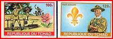 CHAD 1972 BOY SCOUTS imperforated MNH (CH-B)