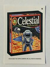 2020 Wacky Packages All New Weekly Series May - Celestial (#11) Coupon Back