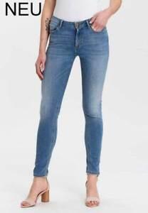 Extralange Jeans für große Frauen Super Skinny hellblau Überlänge Längen 36 & 38