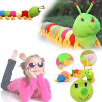 Baby Child Kids Toys Colorful Inchworm Soft Caterpillar New Developmental Toys
