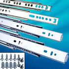 2 X SCHUBLADENSCHIENEN VOLLAUSZUG softclose TEILAUSZUG 17mm Schubladenauszug   <br/> ⭐️⭐️⭐️⭐️⭐ ✔️mit SCHRAUBEN ✔️SOFT-CLOSING✔️SELBSTSEINZUG