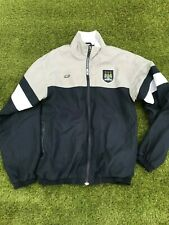 MANCHESTER CITY REEBOK TRACKSUIT TOP BLUE USED YOUTH SIZE XL