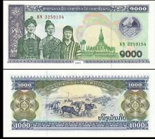 Laos 2003 year 1000 Kip BrandNew Banknotes