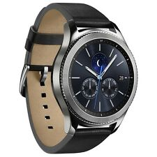 Samsung GALAXY GEAR s3 r770 CLASSIC SILVER ANDROID SMARTWATCH Bracciale Fitness
