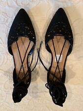 CHRISTIAN SIRIANO for Payless Ladies Black FLATS/SHOES- Size 7 1/2 W NWOB