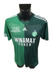 Maillot Foot Ancien Asse Saint Etienne Numero 91 Magic-fan Taille L