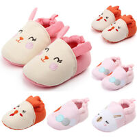 Cute Baby Girls Boys Warm Shoes Comfortable Sofe Sole First Walkers Kids Shoes