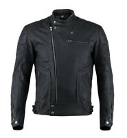 Giacca moto donna in pelle Vand Horizon Lady Nero