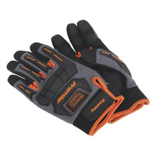 Sealey MG803L Mechanic's Gloves Anti-Collision - Large Pair