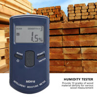 MD918 Digital Inductive Wood Moisture Meter Detector Timber Humidity Tester