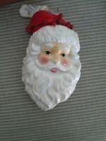 DEPARTMENT 56 Happy Santa Claus Head Christmas Ornament NEW