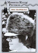 Missouri River Mountain Man Fur Trapper Hat SEWING PATTERN  Historic Pioneer