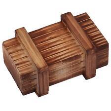Kids Magic Puzzle Wooden Secret Box Compartment Brain Teaser Education Gift Toys