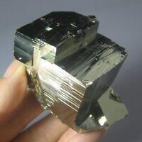 Large Pyrite Cubic Crystal Specimen-prh12ie0104