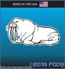 Walrus with Tusks Ocean Wildlife Decal Sticker