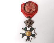 Médaille décoration Légion d'honneur Napoléon Aigle Patrie couronne XIXème