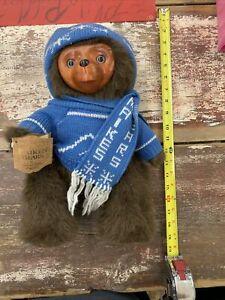 Raikes Bears Applause Eric #5449 Wood Face 6341/7500 w/ COA Artist Signed