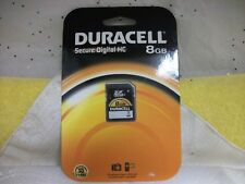 Duracell DUSD8192R 8GB Secure Digital High Capacity (SDHC) Card