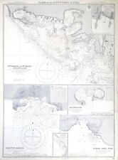 Admiralty Chart: Plans on the South Coast of Cuba 1959