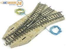 E129 Märklin H0 5214 M-Gleis elektrische Dreiwegweiche DWW Note 4 *geprüft*