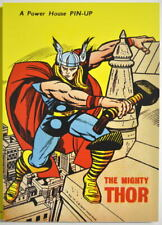 POWER PIN-UP Print - The MIGHTY THOR Vintage Art Marvel UK Distribution