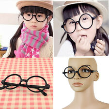 Retro Vintage Round Circle Frame Eyeglasses Eye Glasses Fashion No Lens