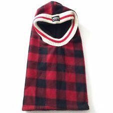 Pook Buffalo Plaid Red Fleece HAT Ninja One Size