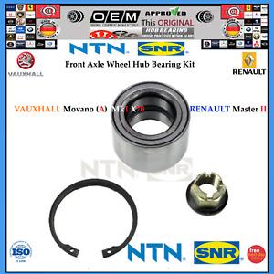 Wheel Hub Bearing Kit RENAULT Master II VAUXHALL Movano (A) Mk1 X70 > 1998-2010