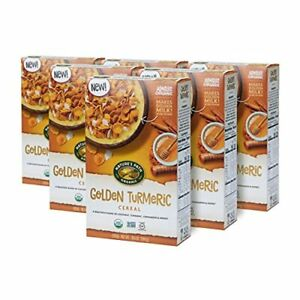 Nature's Path Golden Turmeric Cereal Healthy Organic Gluten-Free 10.6 Ounce B...