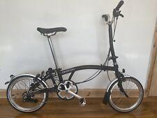 Brompton H6L Folding Bike WORLDWIDE POSTAGE!!