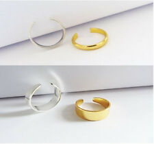 Adjustable Men/Women Band Ring Thin Silver Gold Thumb/Toe/Finger/Knuckle Ring