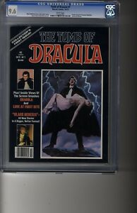 Tomb of Dracula Magazine (1979) # 1 - CGC 9.6 White Pages - GGA Lingerie Larkin