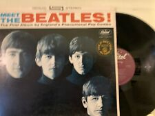 The Beatles ‎– Meet The Beatles! LP 1978 Capitol Records ‎– ST 2047 RE EX