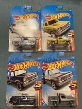 Hot Wheels Dodge Li'l Red Express Truck Lot x4 New