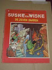 1e druk  Suske en wiske nr 79 : de zeven snaren