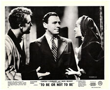 TO BE OR NOT TO BE ORIGINAL LOBBY CARD 1942 CAROLE LOMBARD JACK BENNY