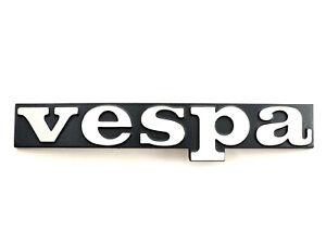 VESPA PX 125 150 200 EFL 1984-1998 Metal Front Legshield Badge - Genuine Piaggio