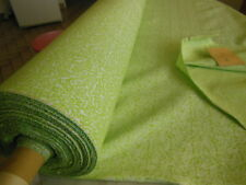 ancien tissu motif vert fond blanc au métre sur 97 cm année 50/60 quantité ++++
