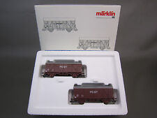 MARKLIN HO SCALE 46271 NS POST COVERED GOODS FREIGHT CAR SET