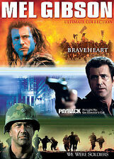 Mel Gibson Ultimate Collection Braveheart / Payback - The Director's Cut / We W