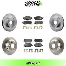 Front Disc Brake Ceramic Pads Set For Hyundai Santa Fe XL Fit Kia Sedona Set 4