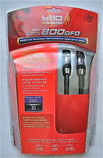 Monster Silver Advanced 400dfo Fiber Optic Audio Cable 3.28'/1m Optical TOSLINK