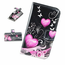 Credit Card Leather Flip Wallet Cover Case Pouch Bag For Apple iPhone 4 4G 4S