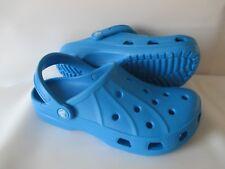 CROCS Ralen clogs, women's size 8 (Roomy Fit) Ocean FREE USA SHIPPING Brand New