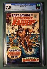 Captain Savage and His Leatherneck Raiders #1 - CGC 7.0 - 1968 - Marvel Comics